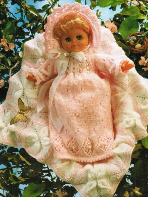 Gorgeous baby doll layette in 3 sizes