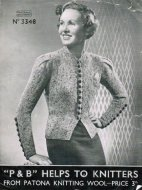 Superb 1940s fitted cardigans