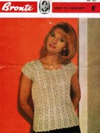 Beginner's pretty crochet summer top