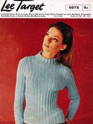 Skinny rib jumper with long or short sleeves