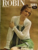 Stunning crochet shrug
