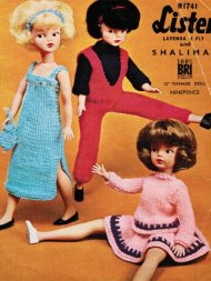Cool evening wear and ski outfit for Barbie