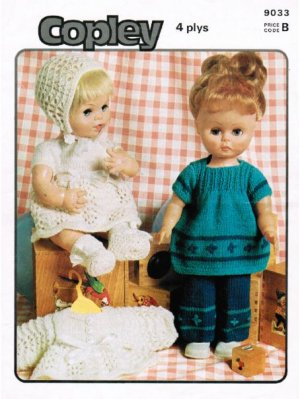 "70's ""modern"" doll & baby dolls clothes"