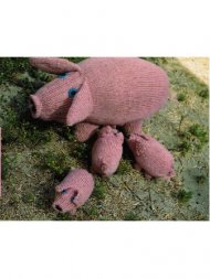 Sow & piglets family toys
