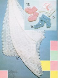 Knitted christening shawl & 3 pairs bootees