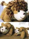 Lion cub and family toys