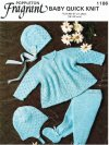 Baby boy or girl pram set; leggings, hat & coat