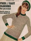 "Jean Shrimpton chooses beret & jumper in ""Terrific Tweed"""