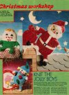 Vintage Father Christmas, Humpty & clown toys