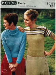 "4 skinny fit ""Twiggy"" style jumpers, one fair isle"