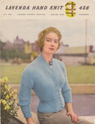 Super sidewise knit rib jacket from the 1950's