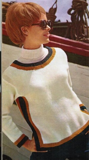 Striped detail jumper