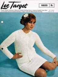 Gorgeous crochet jacket & skirt suit