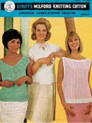 3 different summer tops from the early 60's