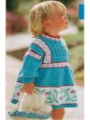Pretty flowered toddler tunic dress