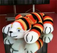 Pattern no.446 tiger cub toy
