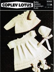 Traditional baby dress, matinee coat hat and boots