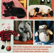 5 super toys for Christmas - teddy, snowman pets