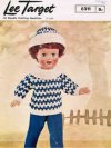 Doll's ski Jumper and hat DK
