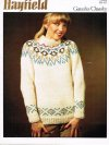 Chunky alpine patterned sweater for him or her