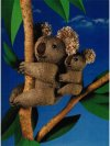 Koala mother and baby toys