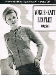 Classic smart fitted Vogue cardigan