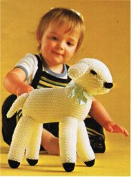 Easter lamb toy