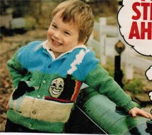 Children's Thomas the Tank engine cardigan