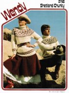 Chunky fair isle jumpers for him and her