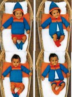 Simple but cute baby boy set - ideal for beginnners