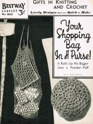 Brilliant crochet foldaway string bag