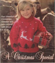 Children's Christmas reindeer and trees picture jumper
