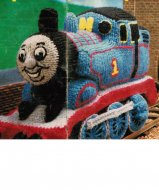 Thomas the Tank engine soft toy in DK