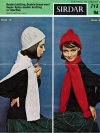 Beanie style hat, cable cloche & scarves