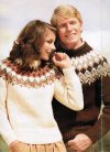 His & hers chunky alpine / nordic jumpers 40-50""
