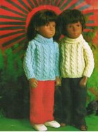 Vintage Sasha doll' s clothes, boy & girl