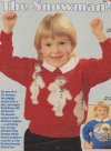 "Childrens' ""The snowman"" Christmas character jumper"