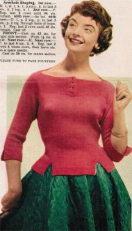 "1950's ""jumper for a winter's date""!"