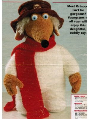 The Wombles Orinoco character toy