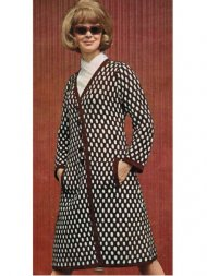 Very smart 2 colour 60's coat