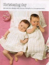 Lacy christening dress long or short