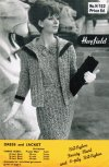 Retro 60's chic dress & jacket suit in DK