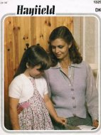 Mother & daughter waistcoat & bolero