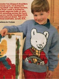 Boy or girl Rupert Bear character jumper