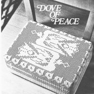 "Beautiful ""dove"" filet crochet kneeler"