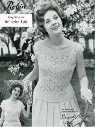 2 lovely 1940's lace summer tops