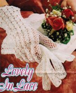 Pretty lacy gloves for a bride or tea on the lawn!