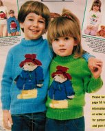 Children's Paddington Bear picture jumper