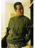 Easy to knit man's sweater