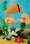 Fun mermaid and underwater creatures toys